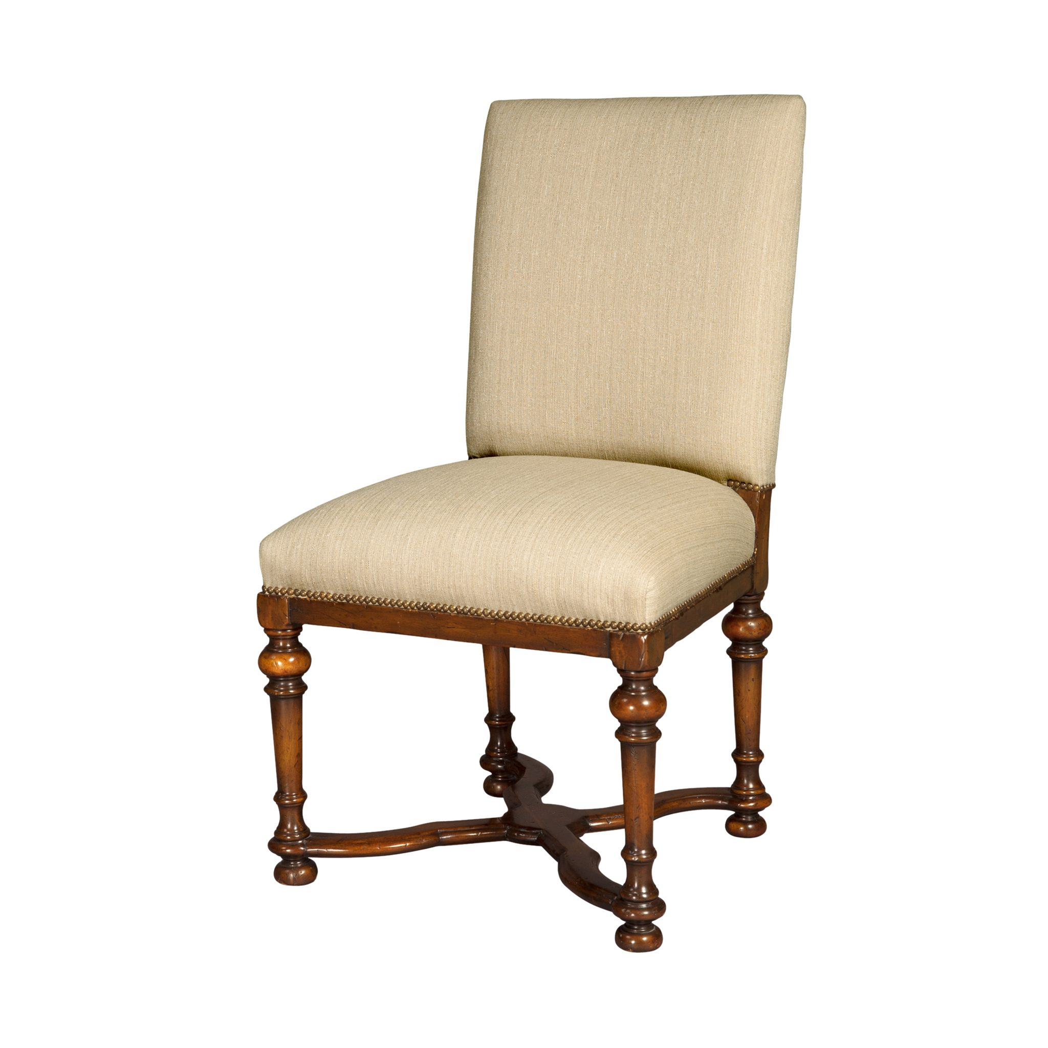 Reproduction William Mary Side Chair English Antiques Caledonian Inc Barrington Il