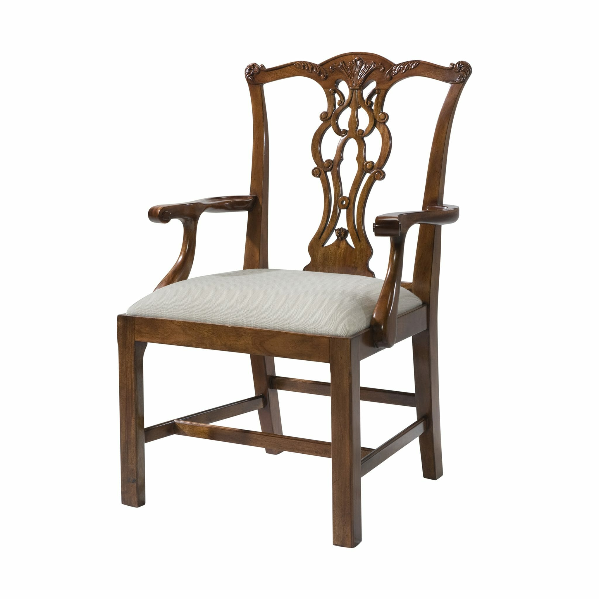 Reproduction Chippendale Armchair  sc 1 st  Caledonian Inc & Reproduction Chippendale Armchair|English Antiques - Caledonian Inc ...