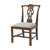 Reproduction Chippendale Side Chair