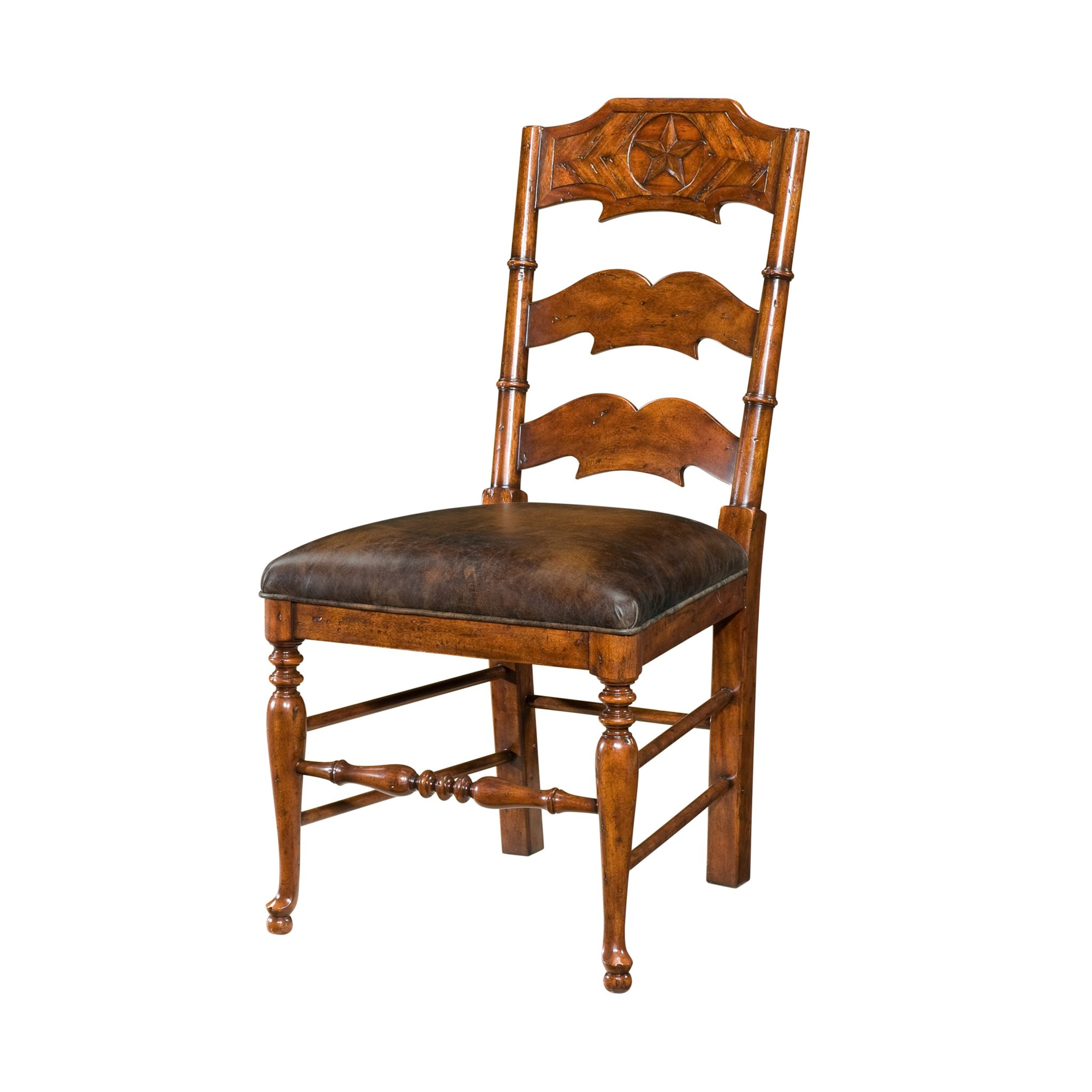 reproduction ladderback side chair english antiques caledonian