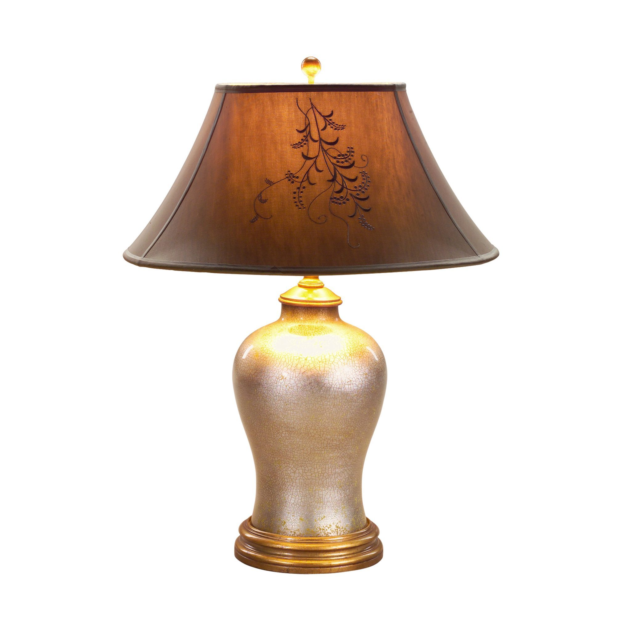 hand blown glomis glass lamp english antiques. Black Bedroom Furniture Sets. Home Design Ideas