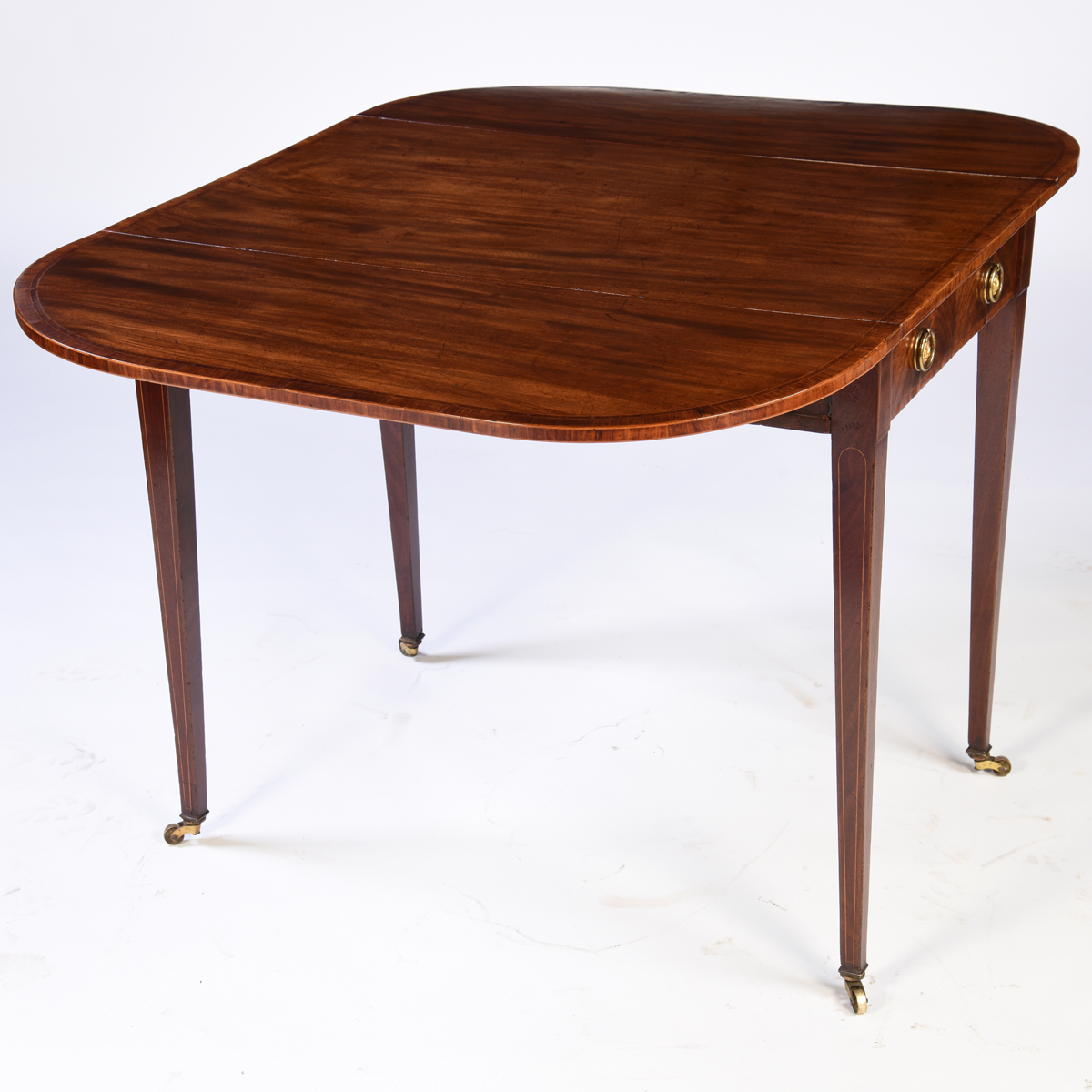 Es240014 Antique English Mahogany Pembroke Table · Es240014 ...