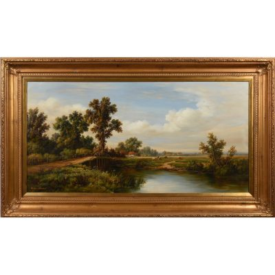 50100-oil-painting-lakeside-1
