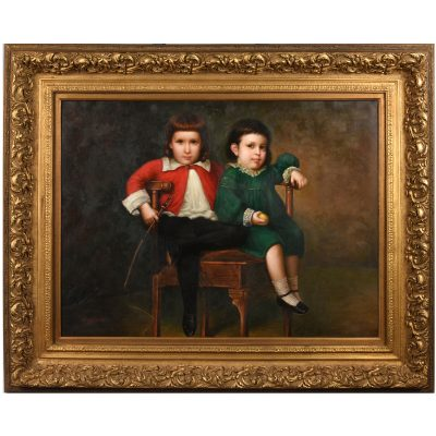 50107-oil-painting-two boys