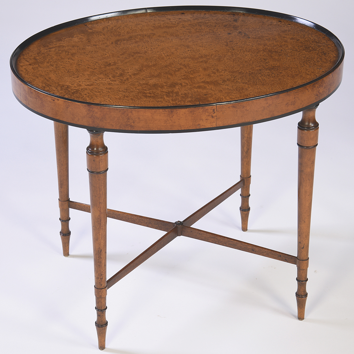 Oval Coffee Table Antique: English Antiques - Caledonian