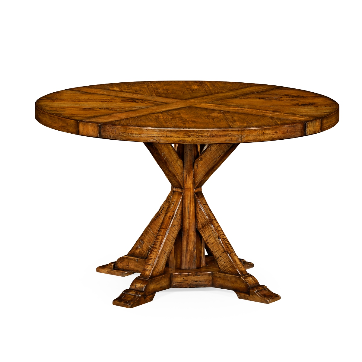 Reion Walnut Round Dining Table