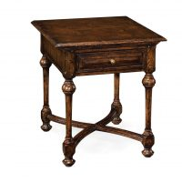 Reproduction English Oak End Table