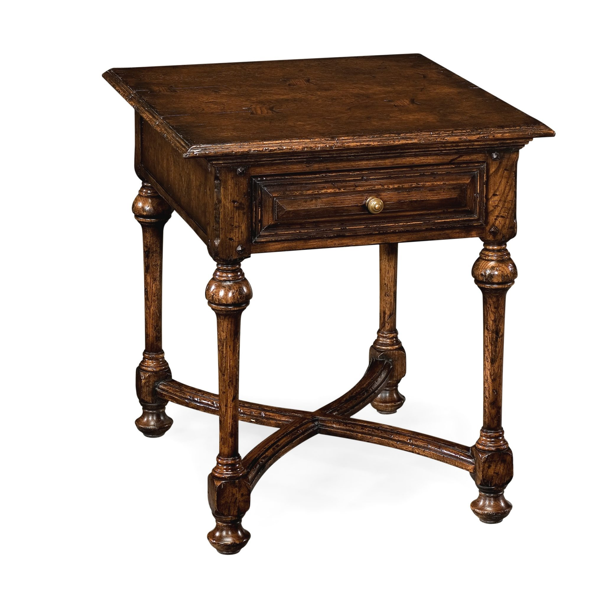 Reproduction English Oak End Table English Antiques Caledonian