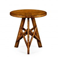 Reproduction Walnut Occasional Table