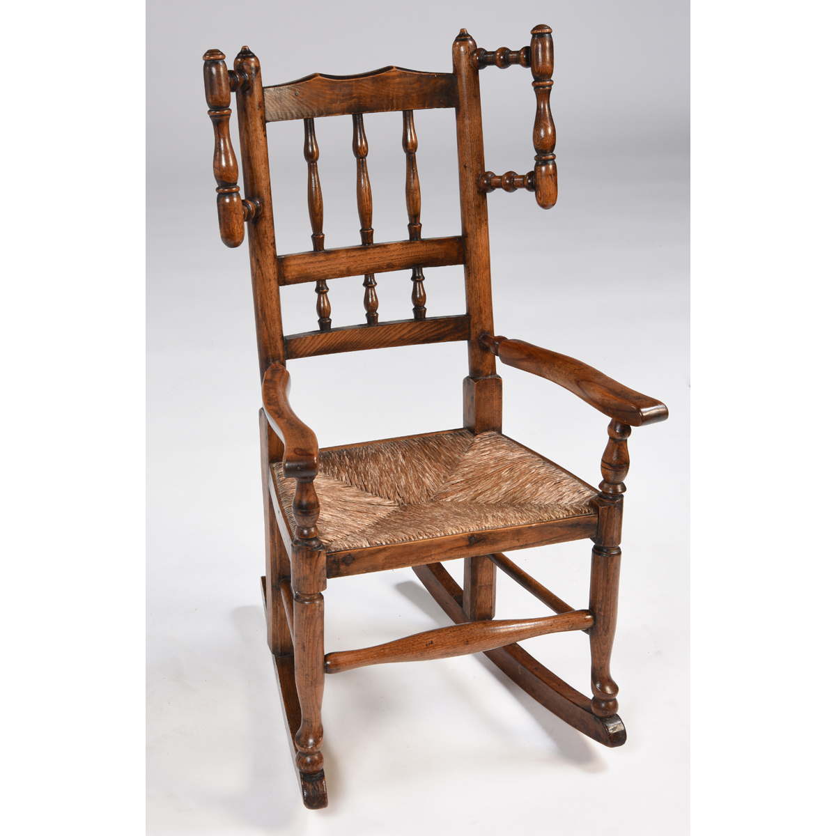 Antique English Child's Rocking Chair - Antique English Child's Rocking Chair|English Antiques - Caledonian