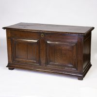 Antique English Oak Coffer